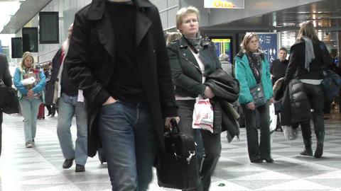 Helsinki Vantaa Airport 16 60fps native slowmotion Stock Video Footage