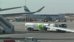 Helsinki Vantaa Airport 20 handheld Stock Video Footage