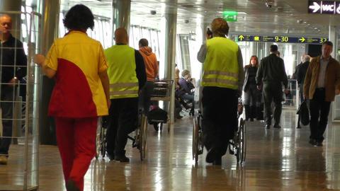 Helsinki Vantaa Airport 24 60fps native slowmotion handheld Footage