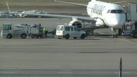Helsinki Vantaa Airport 26 Stock Video Footage