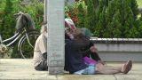 Homeless in Japan Footage