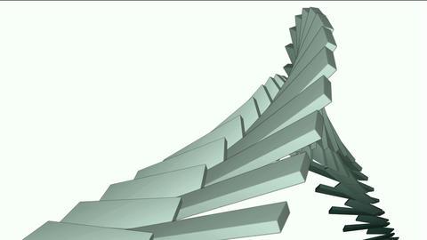 deform square box math geometry array,conveyor belt & stairs,computer tech web background Animation