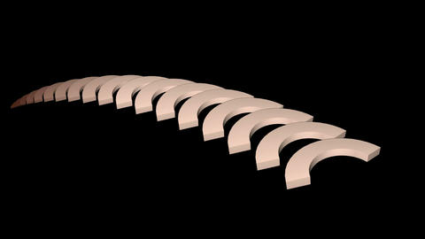 arch math geometry array,conveyor belt & stairs,computer tech web background Animation