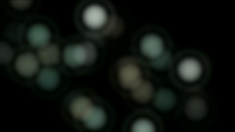 abstract blur circles,float particles &... Stock Video Footage
