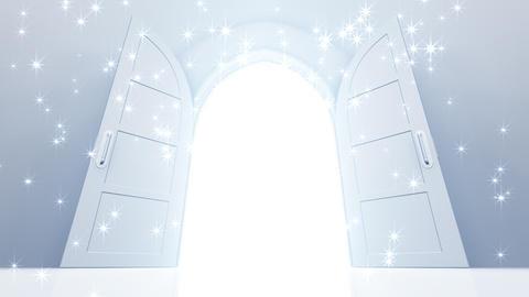 Door Opening CW M1 Fix 5 HD Stock Video Footage