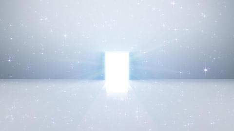 Door Opening DW F2 In 5 HD Stock Video Footage