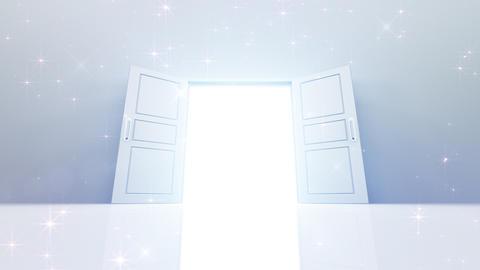 Door Opening DW M1 In 5 HD Stock Video Footage