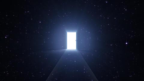 Door Opening SD F2 In 5 HD Stock Video Footage