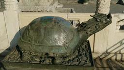 太和殿の亀の彫刻 Footage