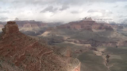 Grand Canyon National Park in winter Footage