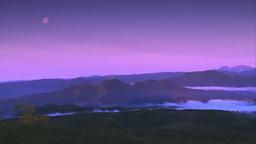 雲海に覆われた夜明けの屈斜路湖 Footage