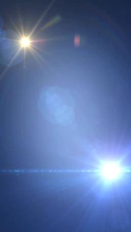 旋回する鮮やかな光芒 Footage