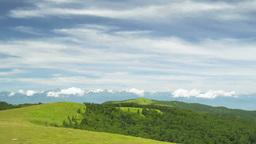 美ヶ原高原から北アルプスの眺望 Footage