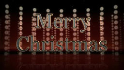 Merry Christmasの文字 Footage