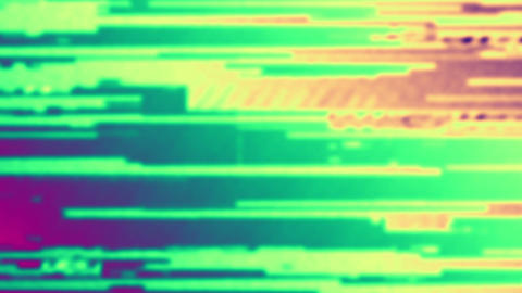 Noise Glitch Video Transitions Animation
