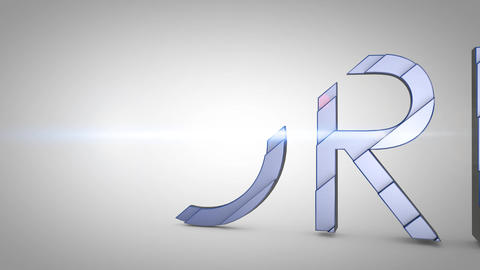 Forex Word 3D Animation stock footage