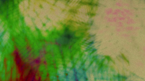 Colorful Chaotic Scene Rotating Colores In Grid Opacity Hue Changer Animation