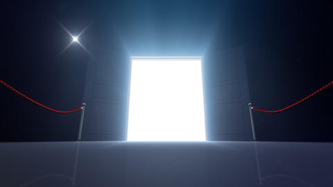 Door Opening DD M1 In 6 Flash HD Stock Video Footage