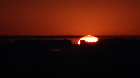 sunrise background time lapse Stock Video Footage