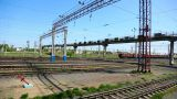 Railroad station Footage