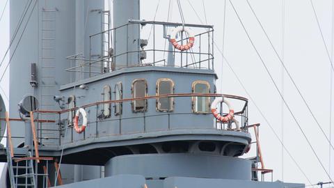 Cruiser Aurora Stock Video Footage
