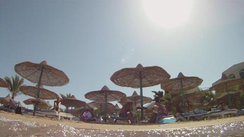 Red Sea coast Stock Video Footage