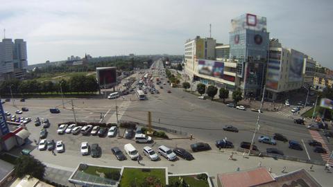 city of Kaliningrad machine Stock Video Footage