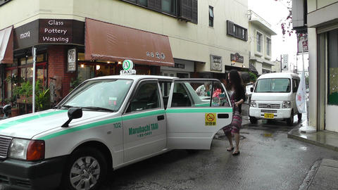Ishigaki Okinawa Islands 14 taxi Footage
