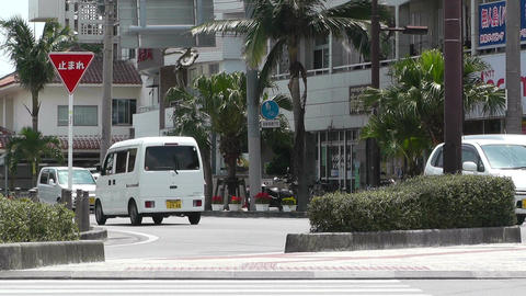 Ishigaki Okinawa Islands 30 street Stock Video Footage