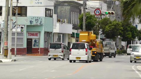 Ishigaki Okinawa Islands 34 traffic Footage