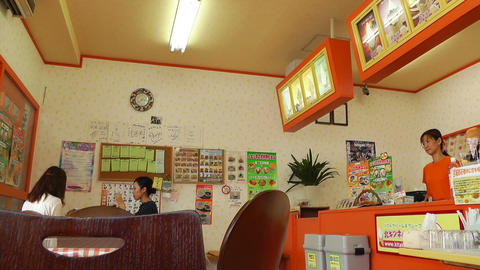 Japanese Icecream Shop 02 Footage