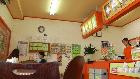 Japanese Icecream Shop 02 Stock Video Footage