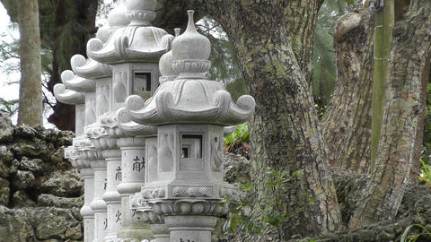 Japanese Shrine 02 Footage