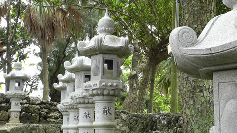 Japanese Shrine 06 Stock Video Footage