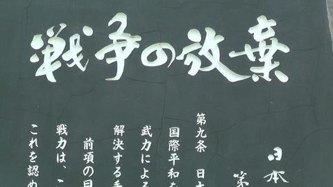 Japanese Text on Stone 03 Footage