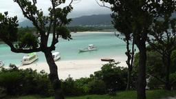 Kabira Beach Bay Ishigaki Okinawa Islands 01 Stock Video Footage
