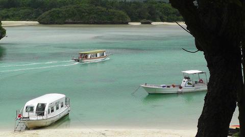 Kabira Beach Bay Ishigaki Okinawa Islands 03 Stock Video Footage