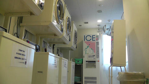 Laundry in Japan 01 Footage