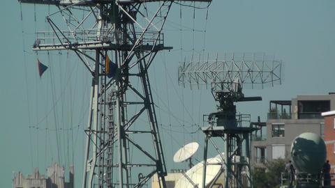 Military Radar 01 Stock Video Footage
