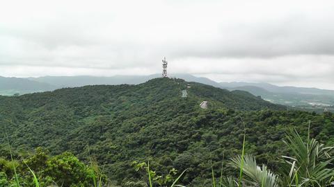 Mount Omoto in Ishigaki Okinawa Islands 01 Stock Video Footage