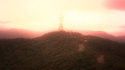 Mount Omoto Ishigaki Okinawa Islands stylized 01 Stock Video Footage
