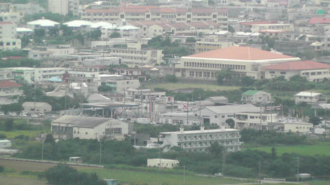 Mount Omoto view to Ishigaki Okinawa Islands 08 Stock Video Footage