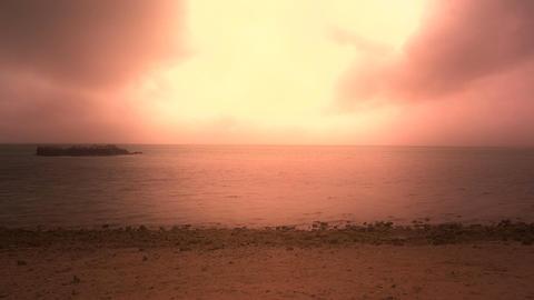 Okinawa Beach stylized 01 Footage