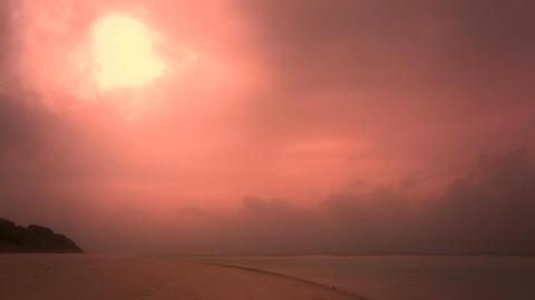 Okinawa Beach stylized 04 Footage