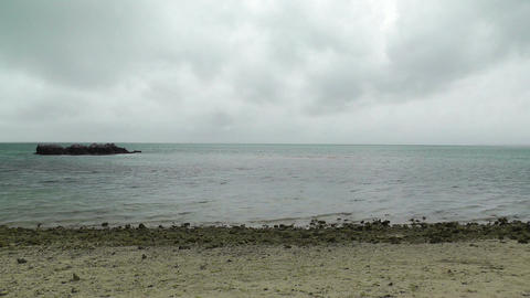 Okinawa Islands Beach 01 Stock Video Footage