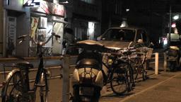Okinawa Islands Street at Night 10 Footage
