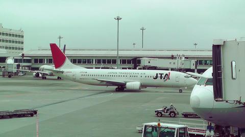 Okinawa Naha Airport 16 jta Footage