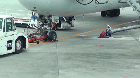 Okinawa Naha Airport 20 handheld Stock Video Footage
