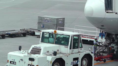 Okinawa Naha Airport 22 handheld Stock Video Footage