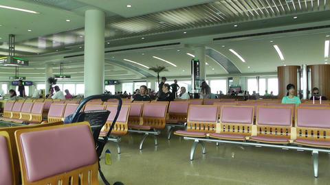 Okinawa Naha Airport Terminal 06 Footage